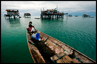 Borneo - Bajau Laut, the sea gypsies