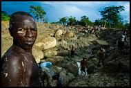 Sierra Leone - Diamond Mines In Color